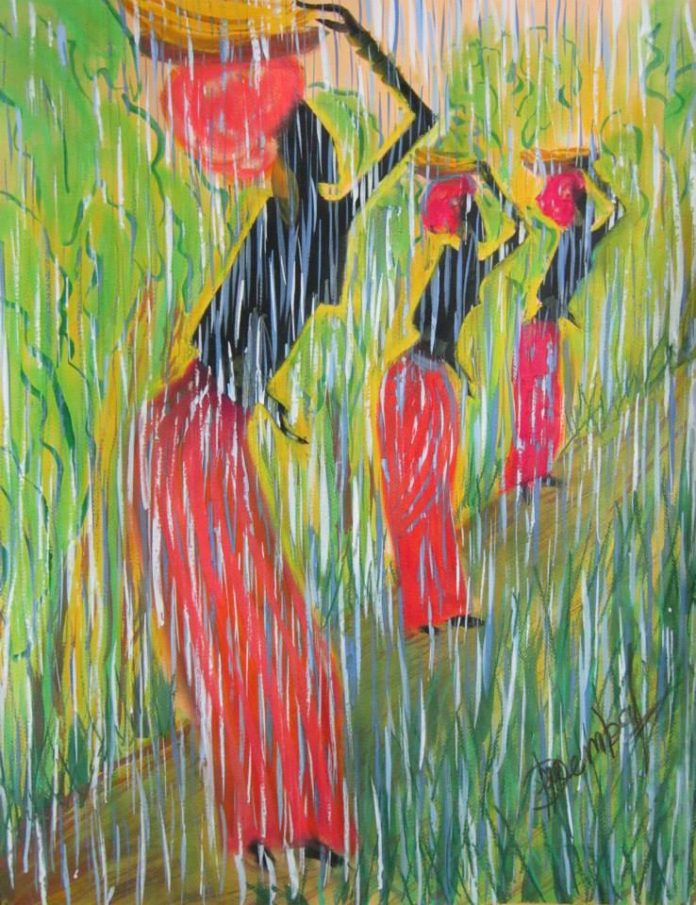 Exuberance of Rain