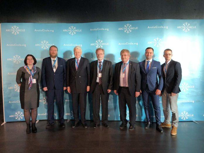Участники российской делегации «Арктического круга»