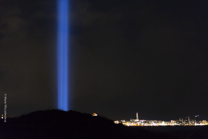 Imagine Peace Tower 2018, Viðey Фото Maria Ylfa Lebedeva