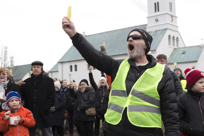Голодный Марш в Рейкъявике