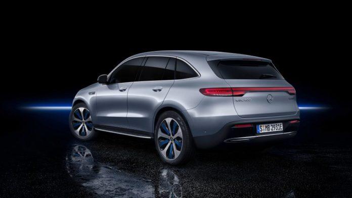 Mercedes-Benz EQC // Источник: Mercedes