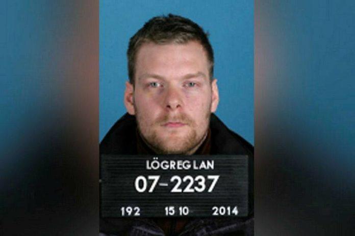 Синри Тор Стефанссон (Sindri Thor Stefansson) // Источник фото: полиция Рейкьявика
