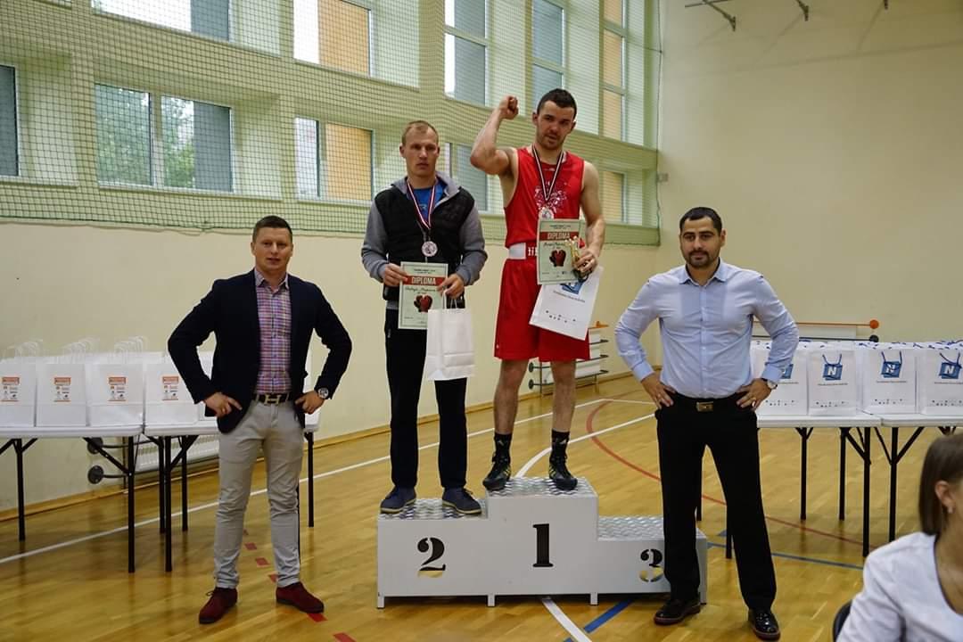 Bogatyr Boxing Team.