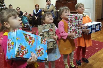 Рождество в обувной коробке