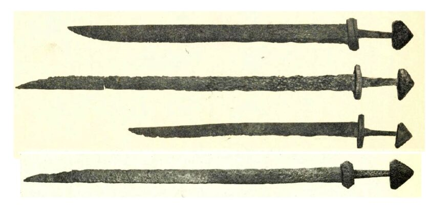 Скандинав�кие ме�и-ланг�ак�� VIII века
