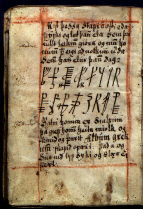 Galdrakver - колдов�ка� ��копи�� 17 века