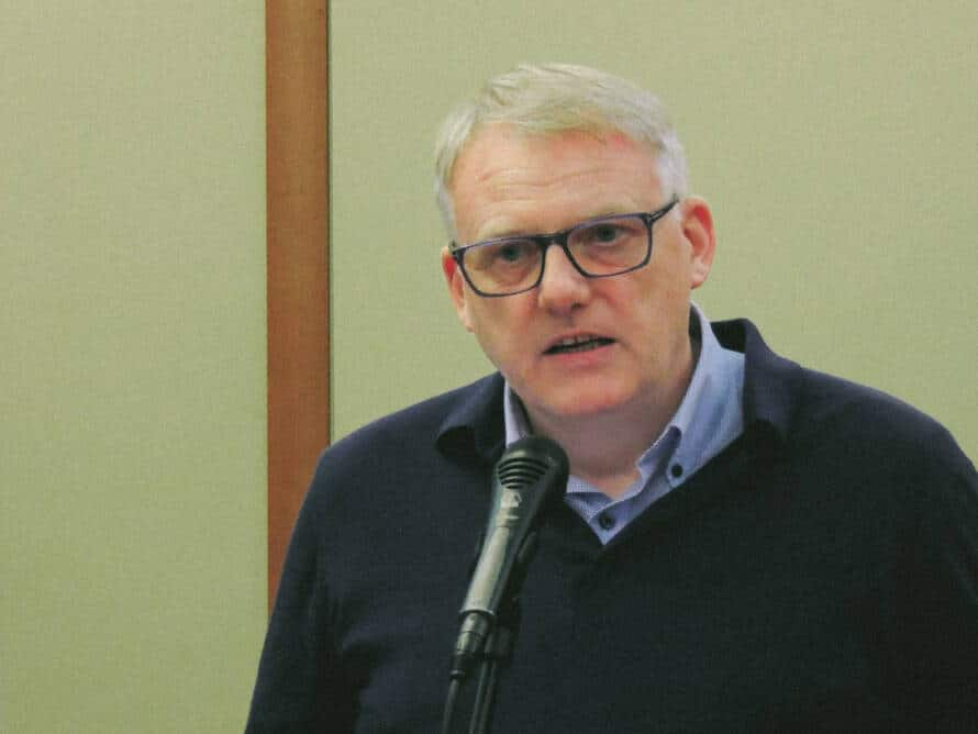 Чрезвычайный и полномочный посол Исландии в РФ Аурни Тор Сигурдссон. Фото с сайта библиотеки