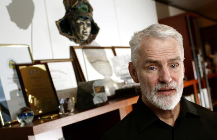 Основатель и исполнительный директор deCODE Каури Стефаунссон. Фото: mbl.is/Golli