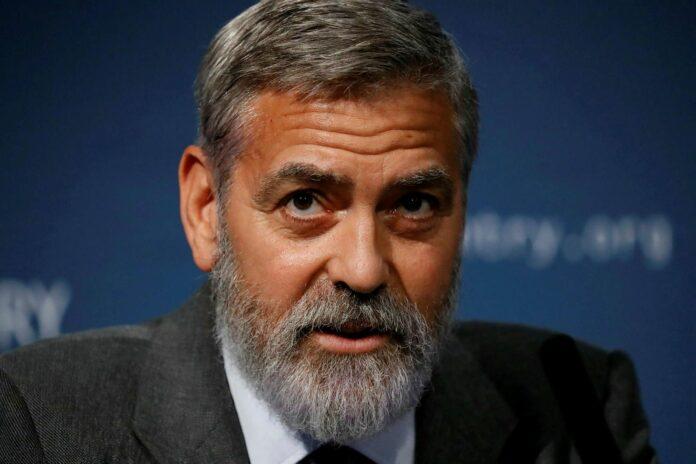 Джордж Клуни. Фото MBL/AFP