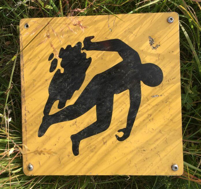 Знак, предупреждающий туристов: фото Стасмир