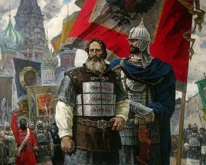 Кузьма Минин и князь Дмитрий Пожарский