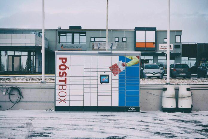 Почтовые ящики в столичном регионе.Фото с сайта mbl.is.Автор не указан