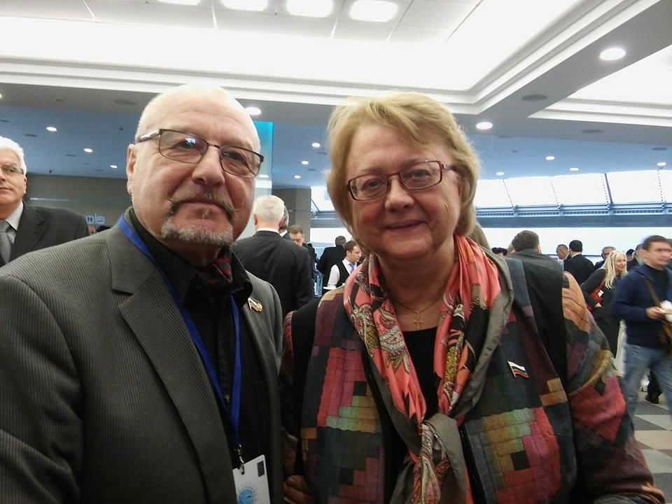 Валерий Лихачев и Людмила Сигель, 2010, Москва