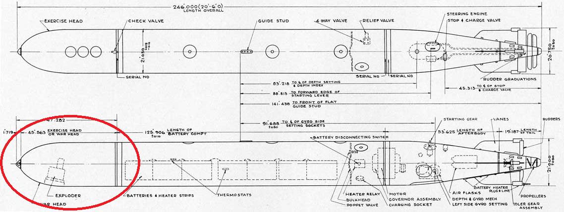 G7e — электрическая немецкая торпеда для подводных лодок, калибра 533 мм