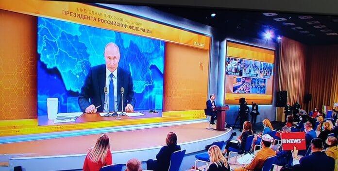 Большая пресс-конференция президента Российской Федерации Владимира Путина 2020