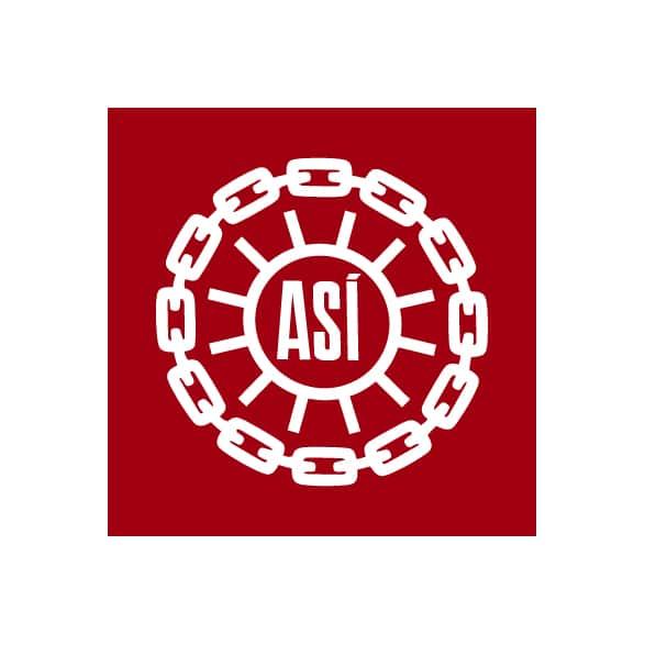 Логотип Исландской конфедерации труда ASÍ