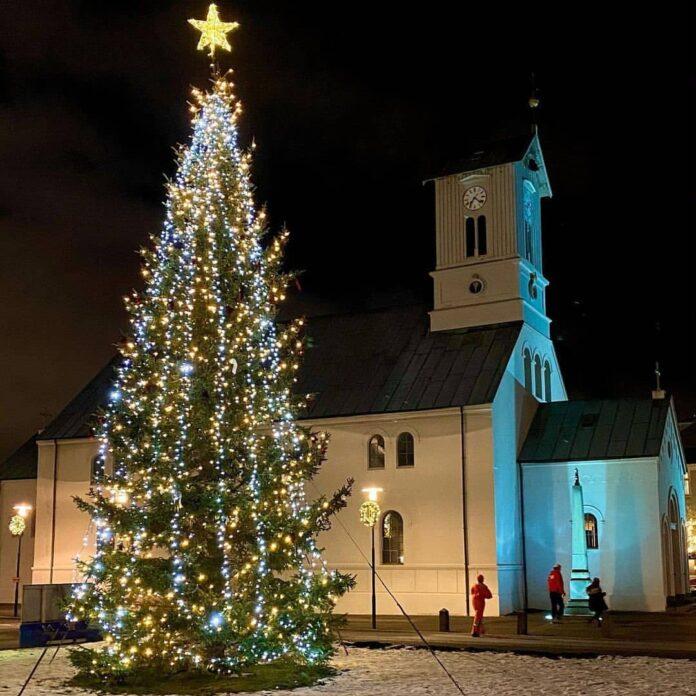 Picture of Oslo Tré on Asturvöllur from visitreykjavik instagram post