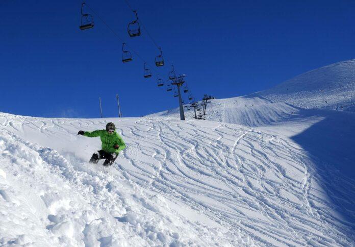 Лыжник, фото с сайта Министерства здравоохранения Исландии
