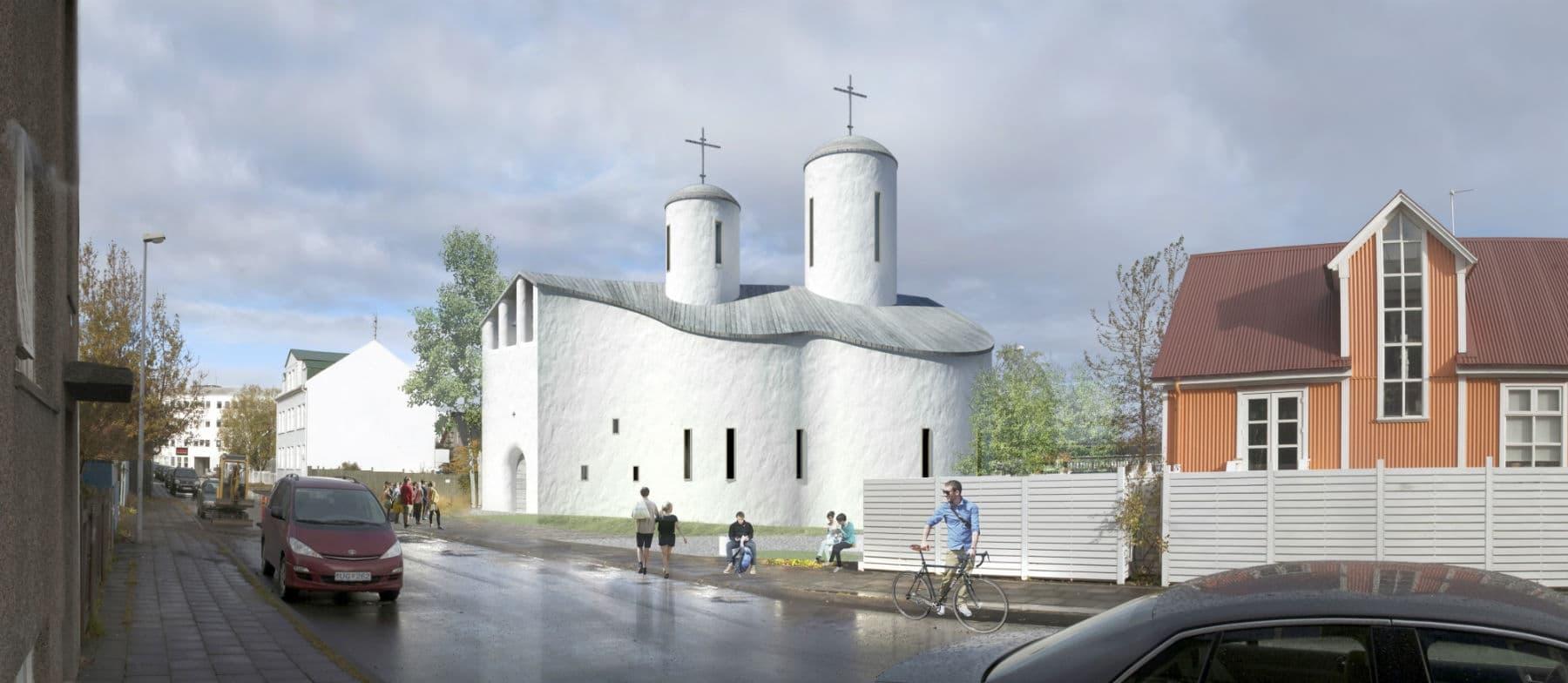 Проект Никольского храма в Рейкьявике