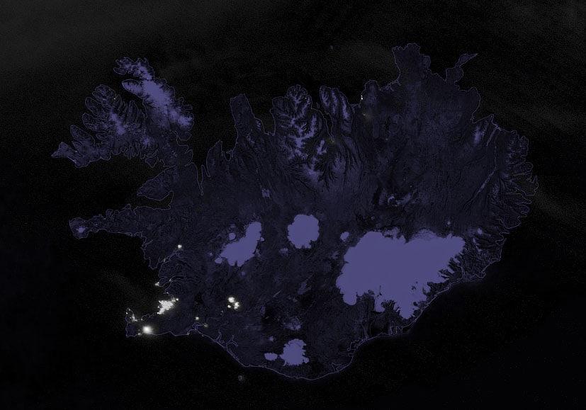 Во время извержения - 21 марта 2021 г.