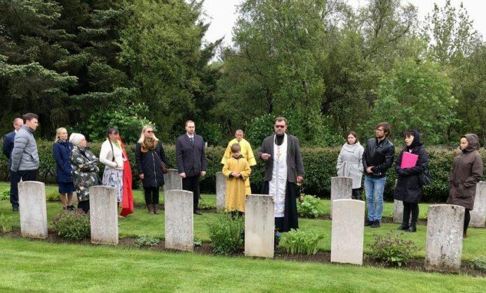 На мемориальном кладбище Фоссвогур, Рейкьявик. 22 июня 2021 г. Фото: Посольство РФ в Исландии
