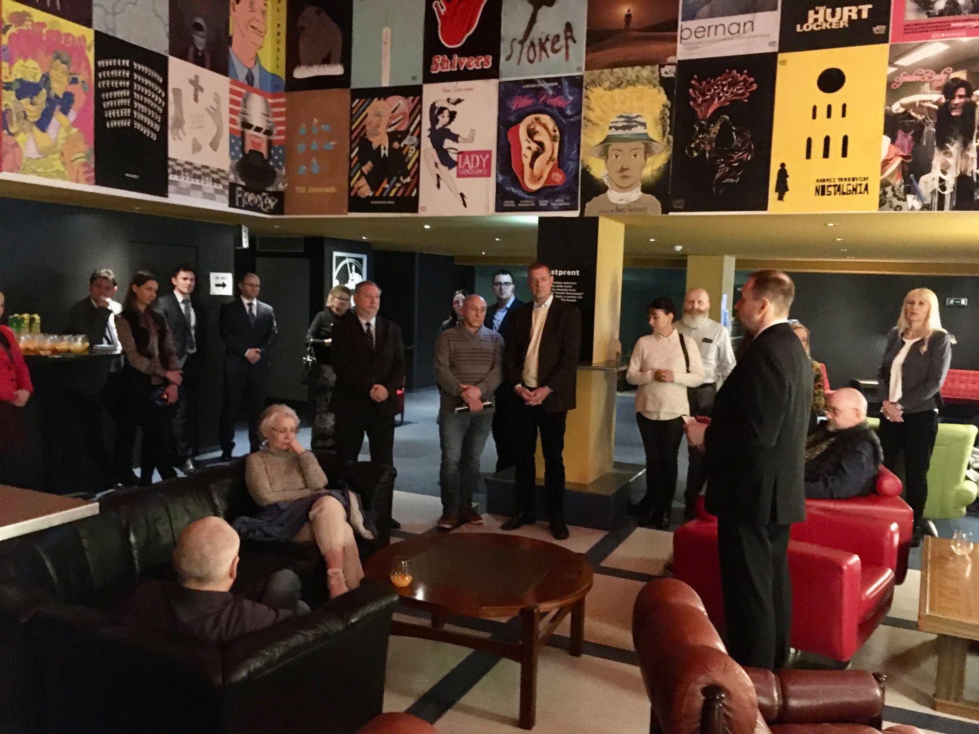 """Кинопоказ """"Баллады о солдате"""", Рейкьявик. 22 июня 2021 г. Фото: Посольство РФ в Исландии"""