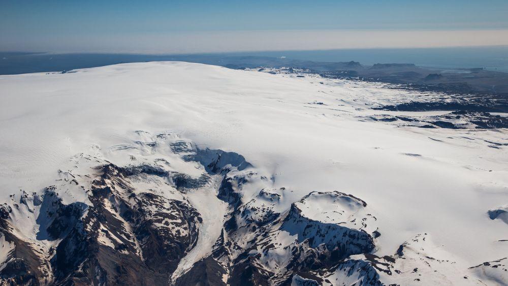 Вулкан Катла. Фото: RÚV