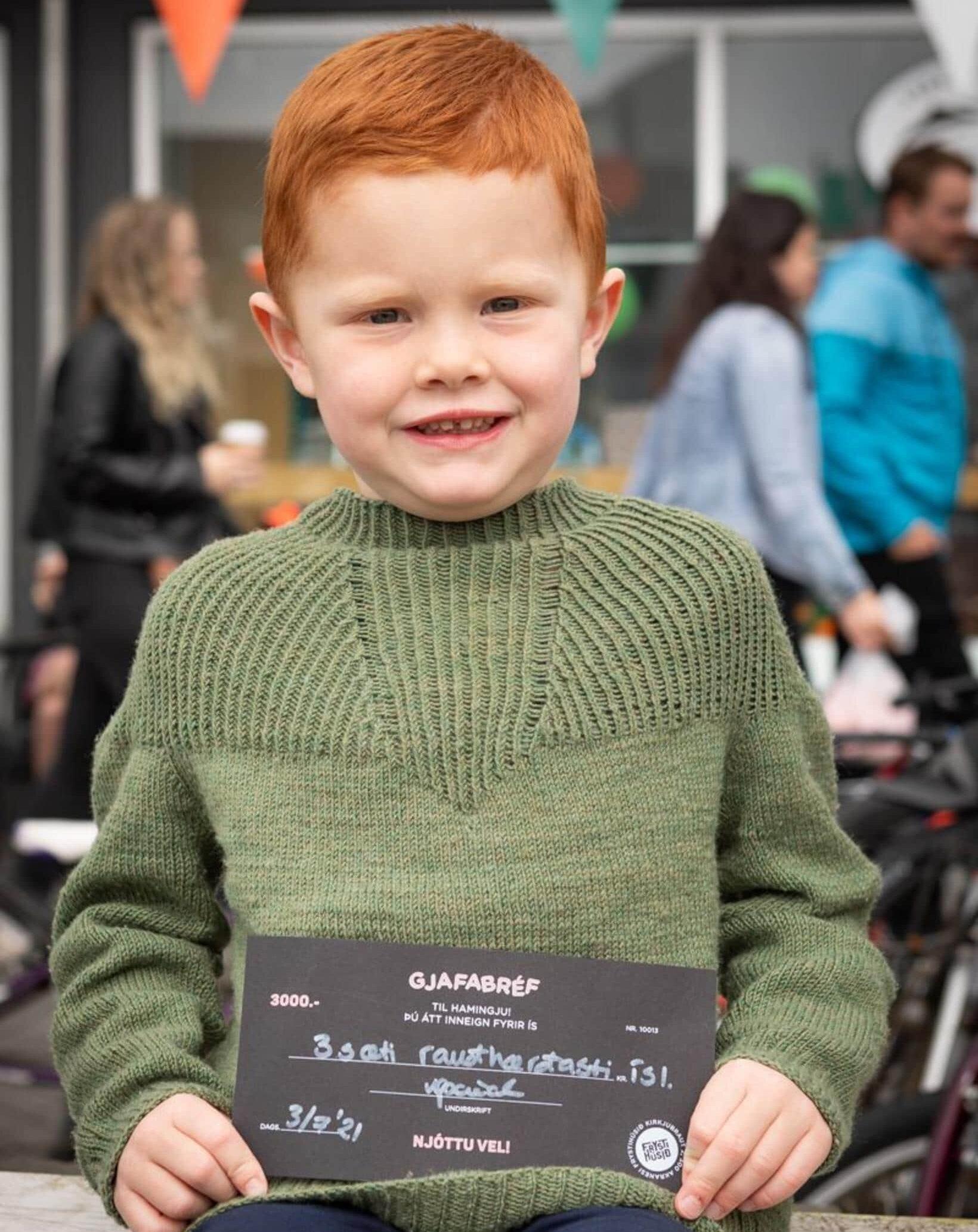 Рурик Логи занял 3-е место в конкурсе на самого рыжего исландца. Фото / Сунна Гаутадоттир